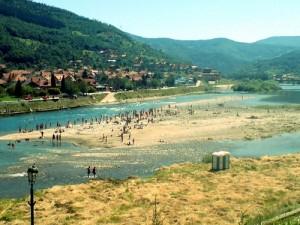 Goražde, Drina