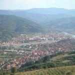 Goražde, panorama