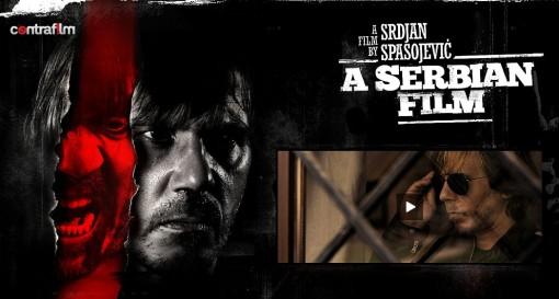 Srpski film, homepage