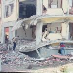 Turska zemljotres- ilustracija