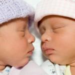 blizanci- ilustracija