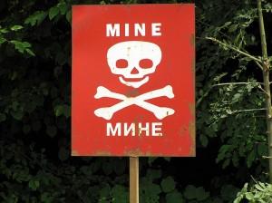 BiH, mine