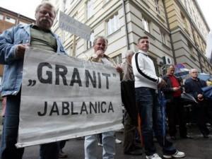 Jablanica, Granit