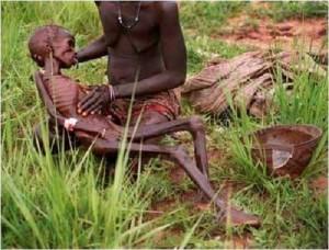 glad, Afrika