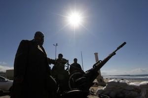 rat, Libija