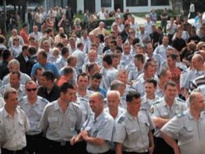 štrajk, BiH, policija