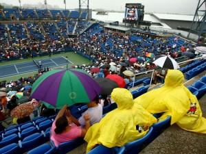 tenis, kiša, US Open