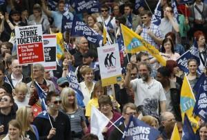 štrajk, Velika Britanija