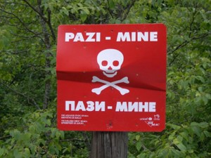 Bosna i Hercegovina, mine