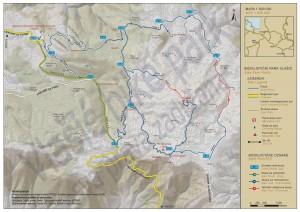 Biciklistička mapa Vlašića