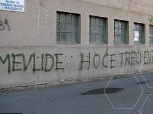 Mostar, grafiti