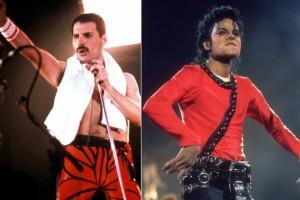 muzika, Michael Jackson, Freddy Mercury