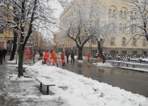 Banja Luka, snijeg