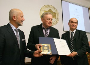 Ivica Osim, Univerzitet, Sarajevo