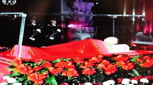Kim Jong-il coffin