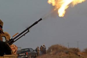 Libija, rat