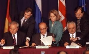 Pariz, Dejtonski mirovni sporazum