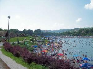 Tuzla, jezero
