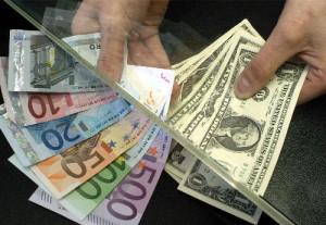 euro, dolar