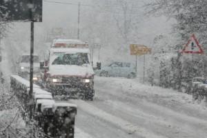 snijeg, saobraćaj