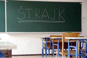 škola, štrajk