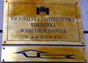Nacionalna i univerzitetska biblioteka, BiH
