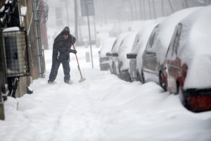 Beograd, snijeg, nevrijeme