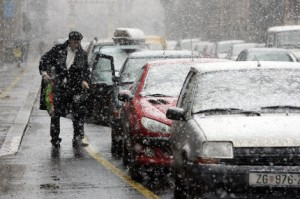 Hrvatska, snijeg