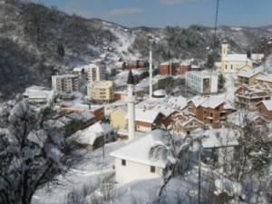 Srebrenica, snijeg