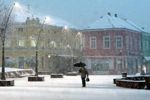 Tuzla, snijeg