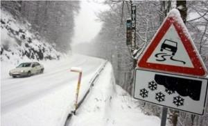putevi, snijeg