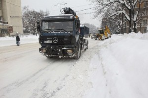 snijeg, BiH