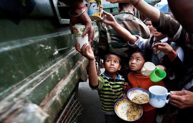 Indija, siromaštvo