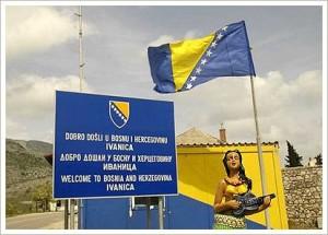 Bosna i Hercegovina, granica