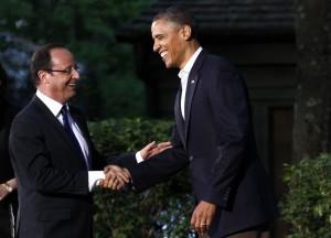 Francois Hollande, Barack Obama