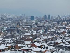snijeg, Sarajevo