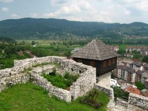 Doboj, tvrđava, Gradina