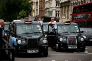 London. taxi