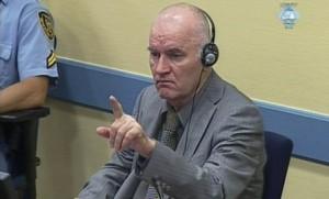 Ratko Mladić, Haag