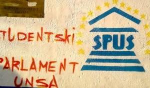 Studentski parlament UNSA