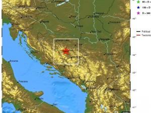 zemljotres, Zenica