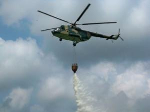požar, BiH, helikopter