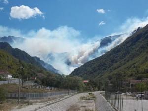 požar, Jablanica