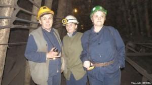 žene, rudari