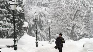 Velika Britanija, snijeg