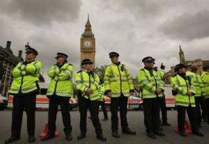 London, policija