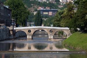 Sarajevo,  Latinska ćuprija