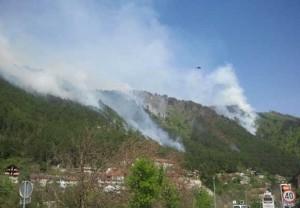 Jablanica, požar