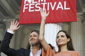 Sarajevo Film Festival, Angelina Jolie, Brad Pitt