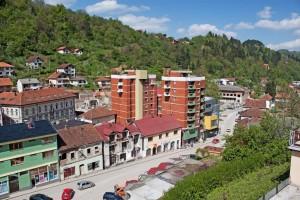 Srebrenica, panorama
